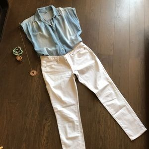 White ankle skinny - Mossimo